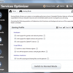 PC Services Optimizer - Gaming Mode