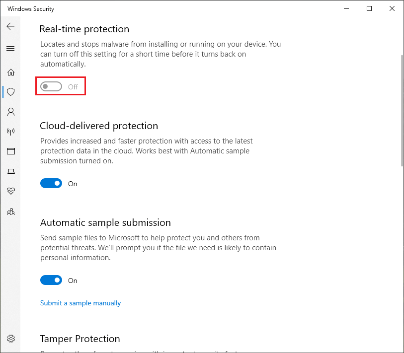 Optimize Windows 10 For Gaming: Disable Windows Defender