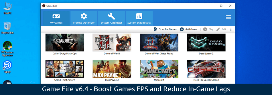 Game Fire 6.4 - Game Booster - Boost Games FPS