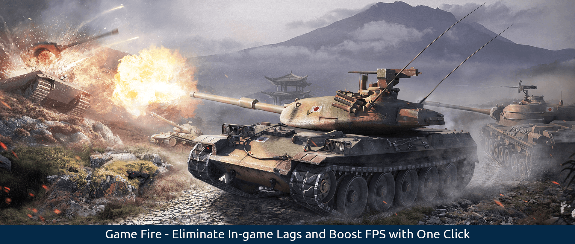 Game Fire - Eliminate In-game Lags and Boost FPS with One Click