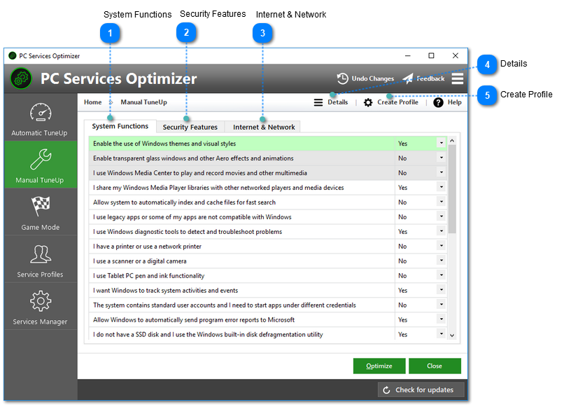 easy service optimizer official site